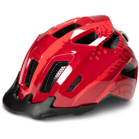 Cube ANT Helmet red splash